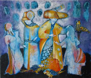 Welcoming the Children Home painting by Sibyl MacKenzie