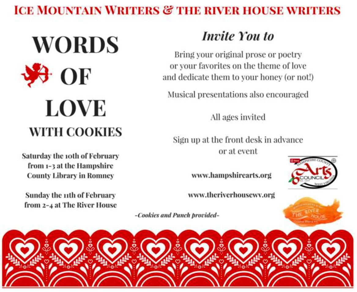 Words of Love With Cookies poster