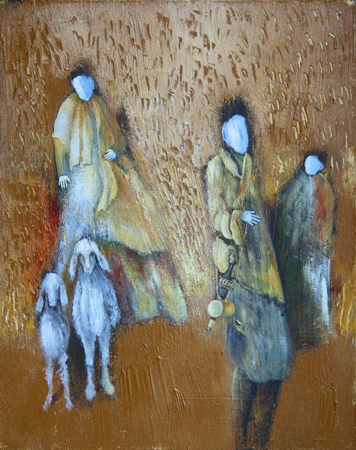 Nomads, painting by Sibyl Mackenzie