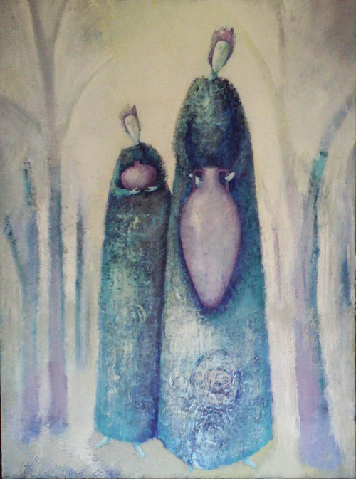 Water Carriers 2 painting by Sibyl Mackenzie