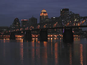 Louisville Skyline photo by Jan Dodgins