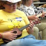 learning the ukulele