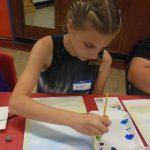 Working in watercolors