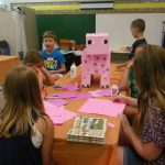 crafting our Minecraft pig