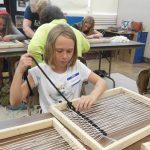 beginning a weaving project
