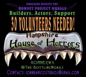 Haunted House Volunteers Needed