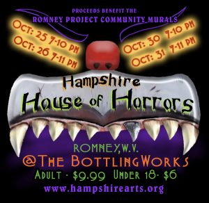 Hampshire House of Horrors 2019 poster